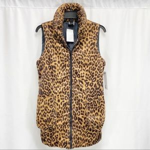 Love Token Leopard Animal Print vest